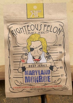 Maryland Monroe Jerky Bag